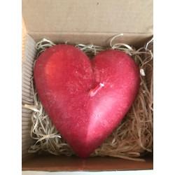 Svíčka otevřené srdce -...